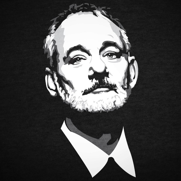 I'm fucking Bill Murray, and I don't have to be happy if I don't want to!
