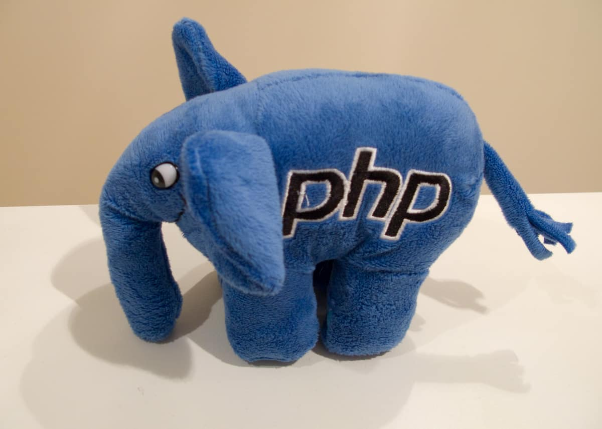 the PHP elephant mascot