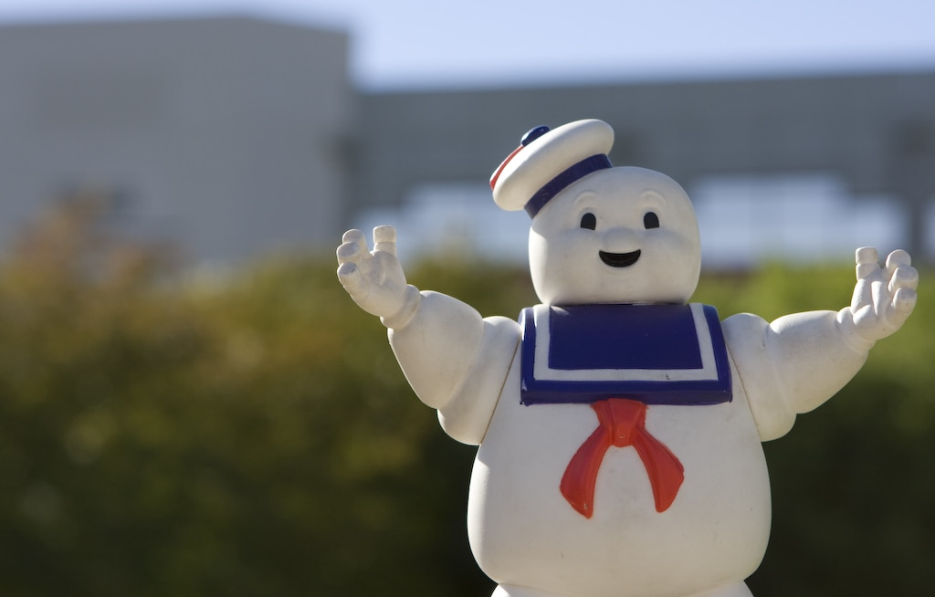 Stay Puft Marshmallow Man from Ghostsbusters