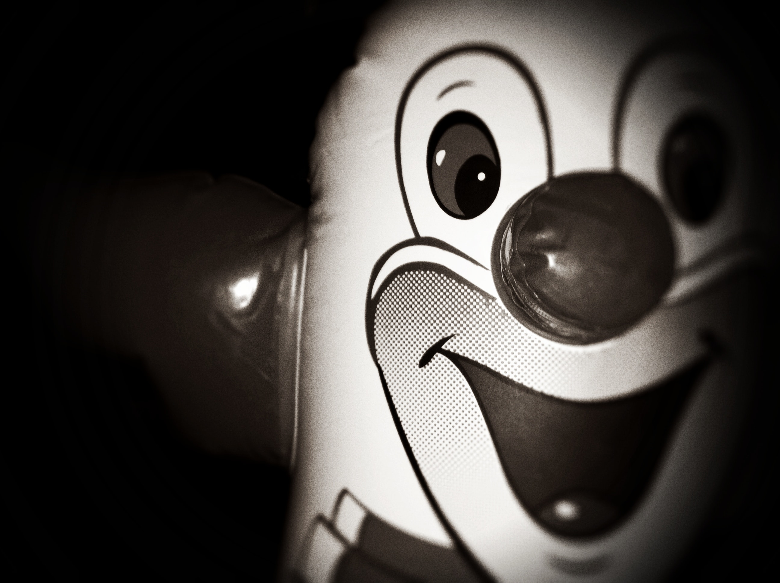 A clown balloon